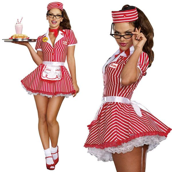 Costume sexy waitress