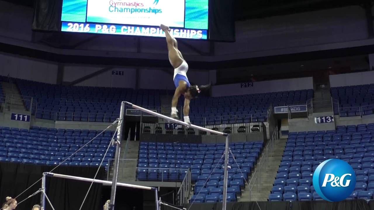 Simone Biles Uneven Bars 2016 P&G Gymnastics