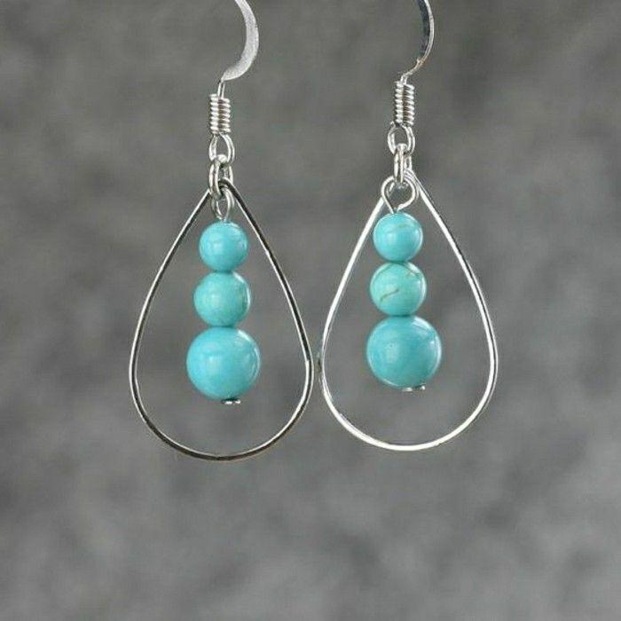 Ohrringe blu edelstein design   nakit   Pinterest   Ohrringe ...