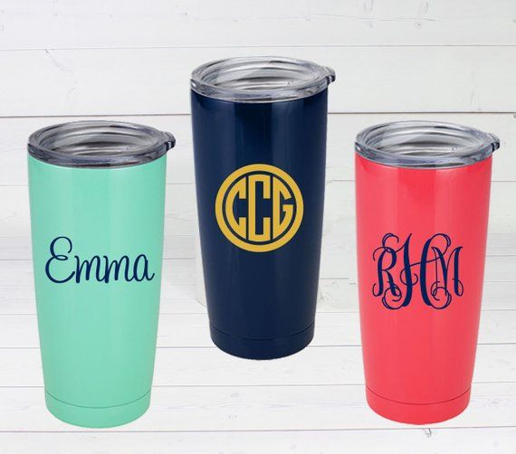 Personalized Insulated Cup Bridal Party Gift Teacher Gift
