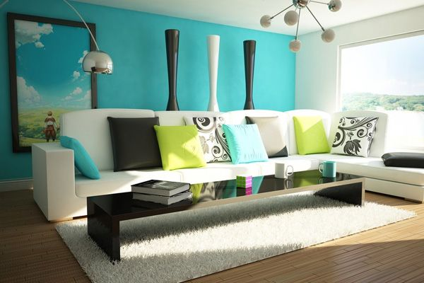 Flahomepros On. Blue Living RoomsColorful Living RoomsLiving Room ...