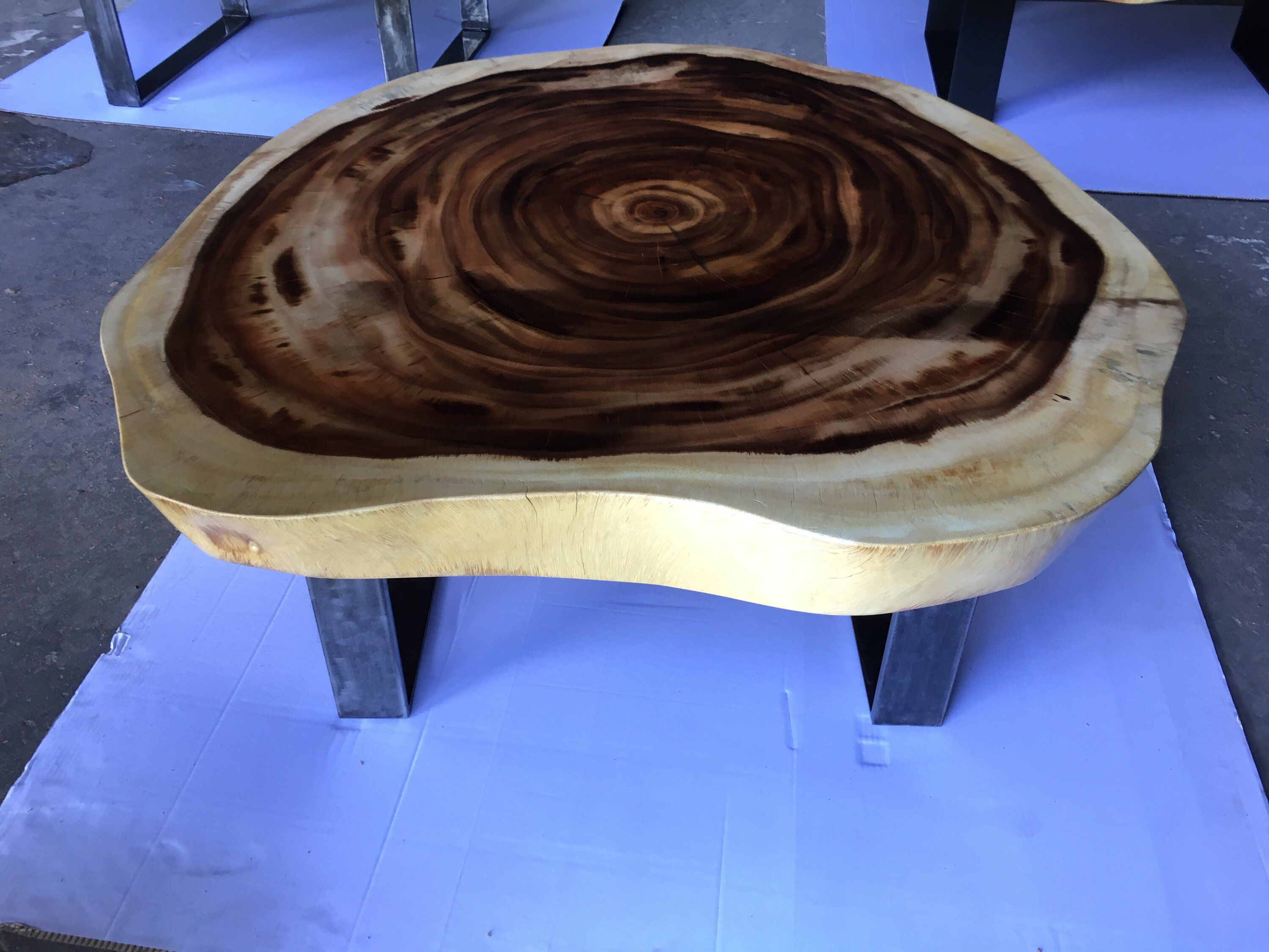 Coffee Table Acacia Coffee Table Live Edge Coffee Table