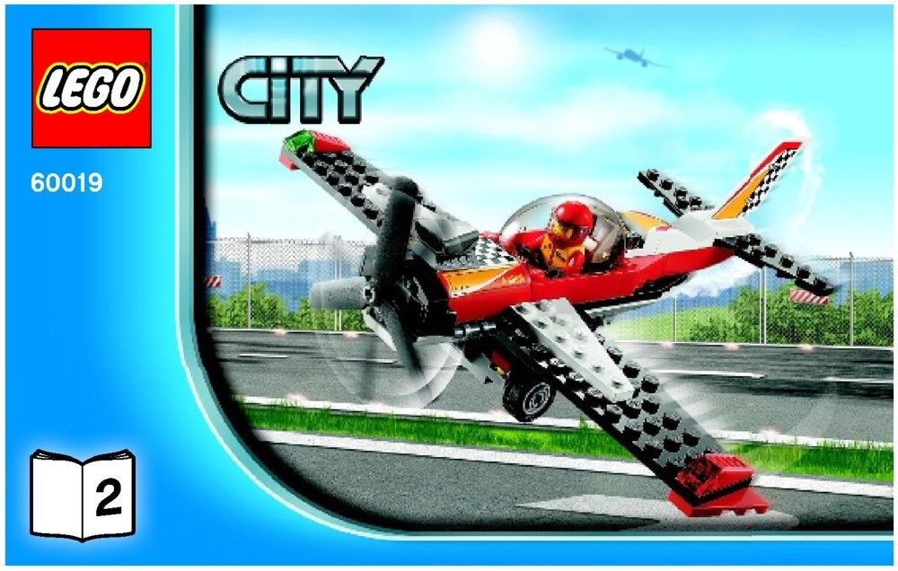 City Stunt Plane Lego 60019 Book 2 Kruses Lego Directions In