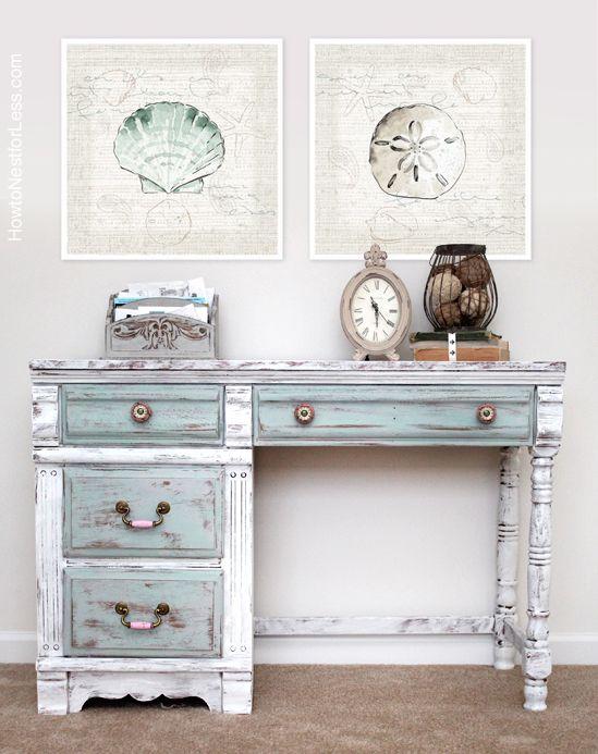 8 Desk Makeover Diy Ideas Chalk Paint Desk Painted Desk Paint Furniture