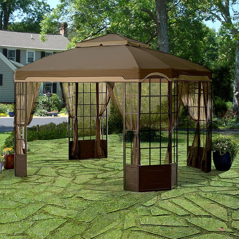 Sears Kmart Bay Window Gazebo Replacement Canopy Gazebo Replacement Canopy Gazebo Pergola Plans Roofs