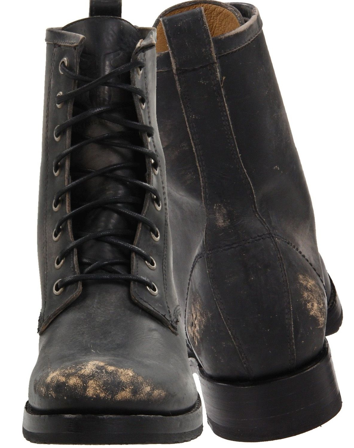 FRYE Womens Veronica Combat Boot black stone washed | FASHION ...