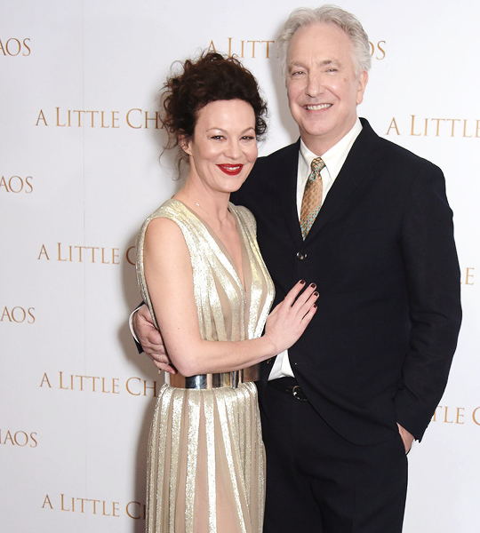 Helen Mccrory Daily Alan Rickman Mccrory Snape And Lily
