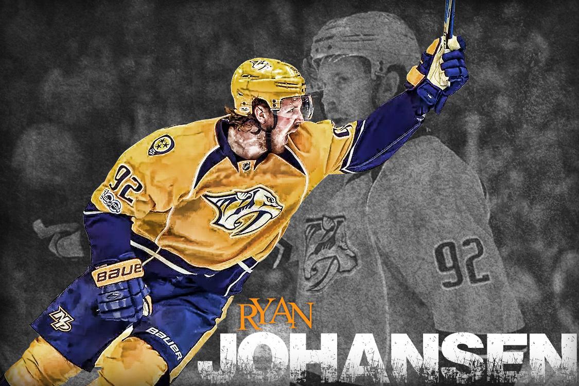 Ryan Johansen Nashville predators hockey, Nashville