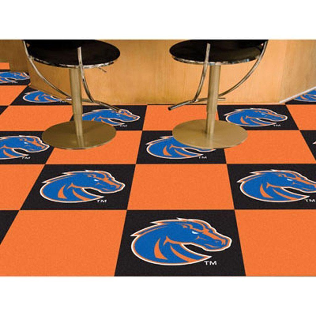 Boise State Broncos BlackOrange Team Proud Carpet Tiles Boise State Broncos BlackOrange Team Proud Carpet Tiles