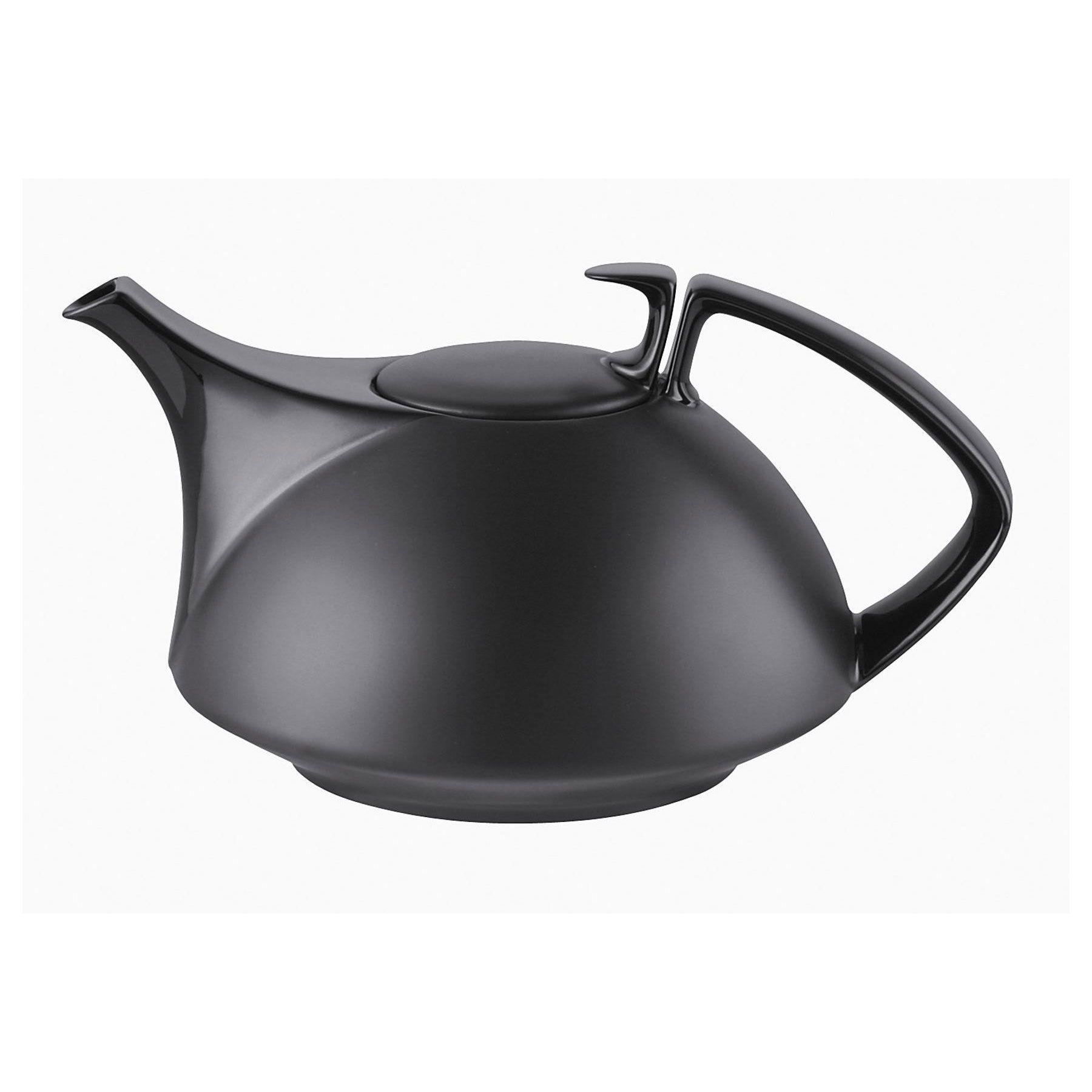 tac black teapot by walter gropius for rosenthal  design  - tac black teapot by walter gropius for rosenthal  design  utensílios pinterest  walter gropius teapot and tea pots
