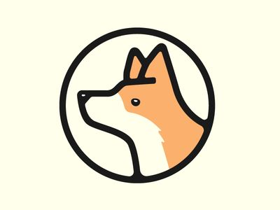 Corgi 2 | Corgi, Corgi dog, Logo design inspiration