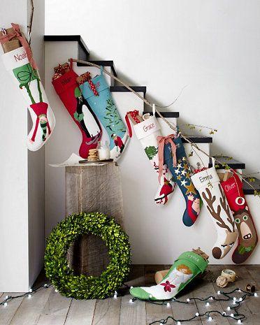 Hable Christmas Stocking Collection | Christmas stocking ...