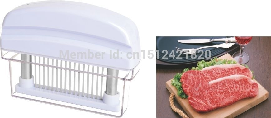 Meat Tenderizer With cover,16 Stainless Steel Needles,easy clean,Beaf pounders  #Homebrite
