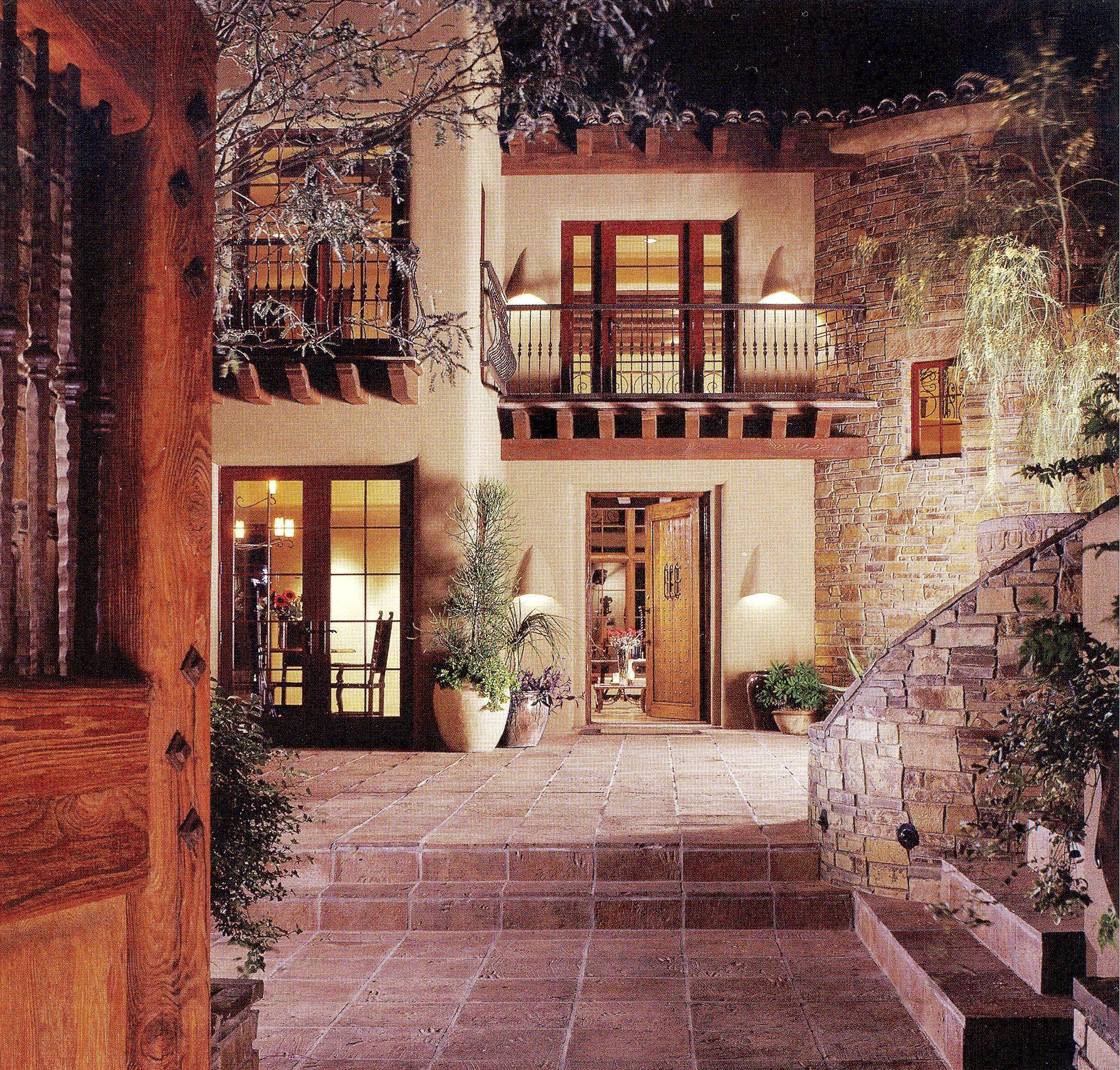 courtyard casas pinterest haus haus bauen und traumhaus. Black Bedroom Furniture Sets. Home Design Ideas