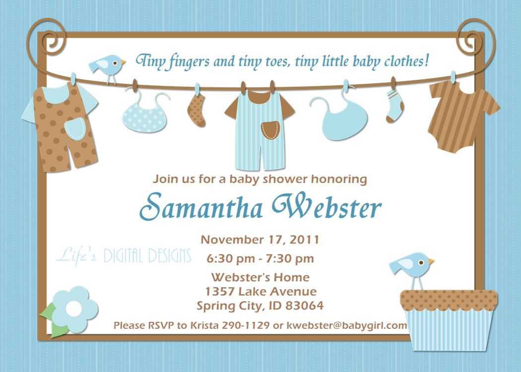 1000+ images about Baby Shower Invitation Card on Pinterest | Free ...