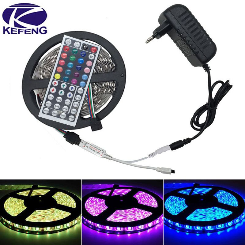12V Waterproof Led Light Strips Fascinating 10M 5M 5050 Rgb Led Strip Light Non Waterproof Led Light 10M Inspiration Design