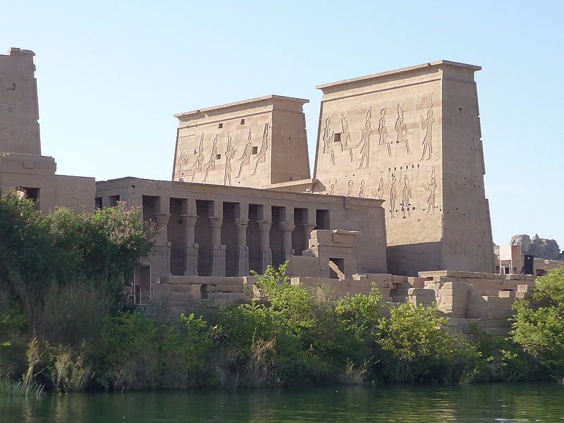 Temple of Isis in Philae, Egypt