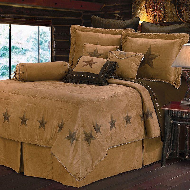 Best Hiend Accents Luxury Star Western Comforter Set Luxury 640 x 480