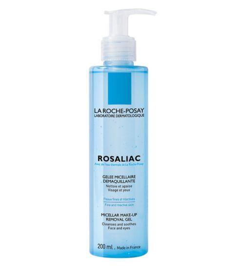 La Roche Posay Rosaliac Make Up Remover Gel 195ml Rosacea Moisturizer La Roche Posay French Beauty