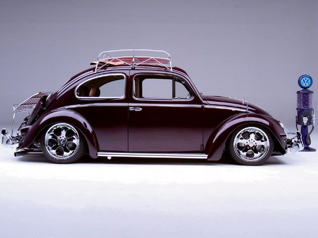 Thesamba Com View Topic Two Or Four Door Lowered Top Chop Beetle Sedan Photoshopped Vw Pickup Volkswagen Vw Bug