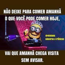 Memes Minions Sinceros E Ironicos Fotos Com Frases Engracadas Frases Engracadas Frases E Imagens Engracadas