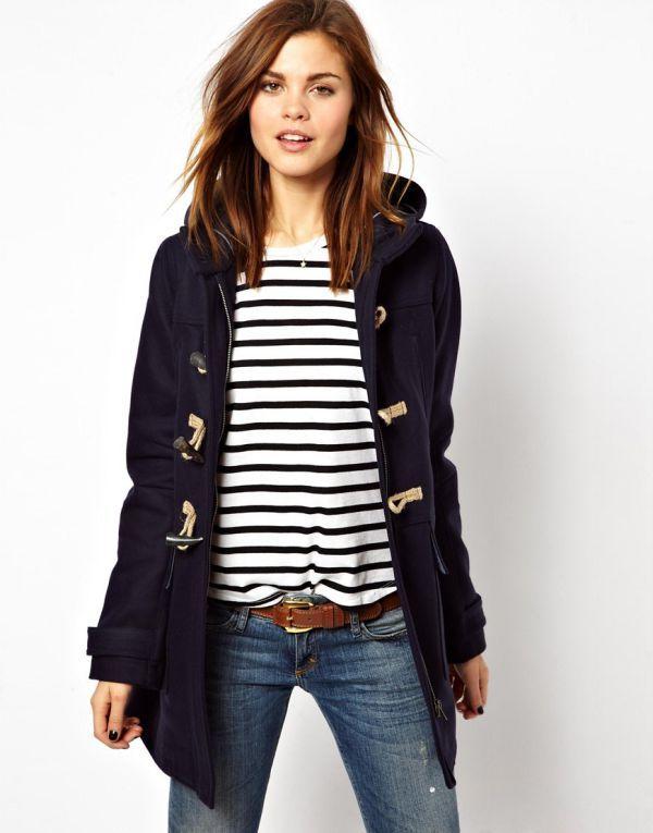 женское пальто дафлкот фото | Полупальто, Модные стили и ...