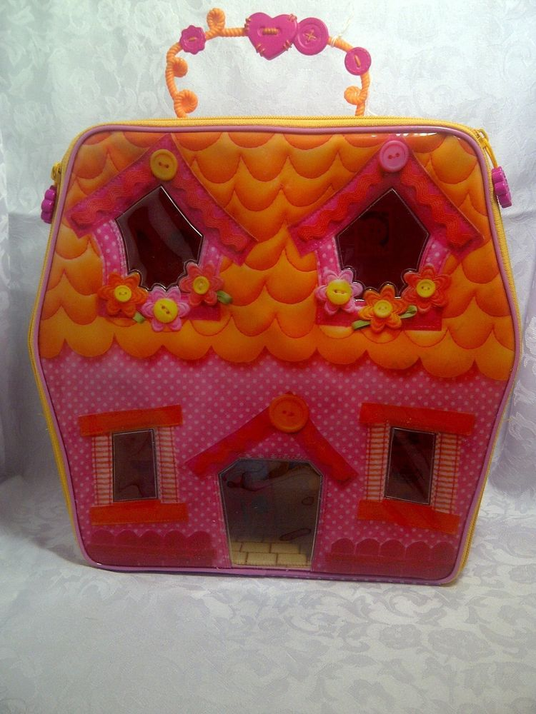 Lalaloopsy Zippered Carry Along Playhouse /& Storage Case