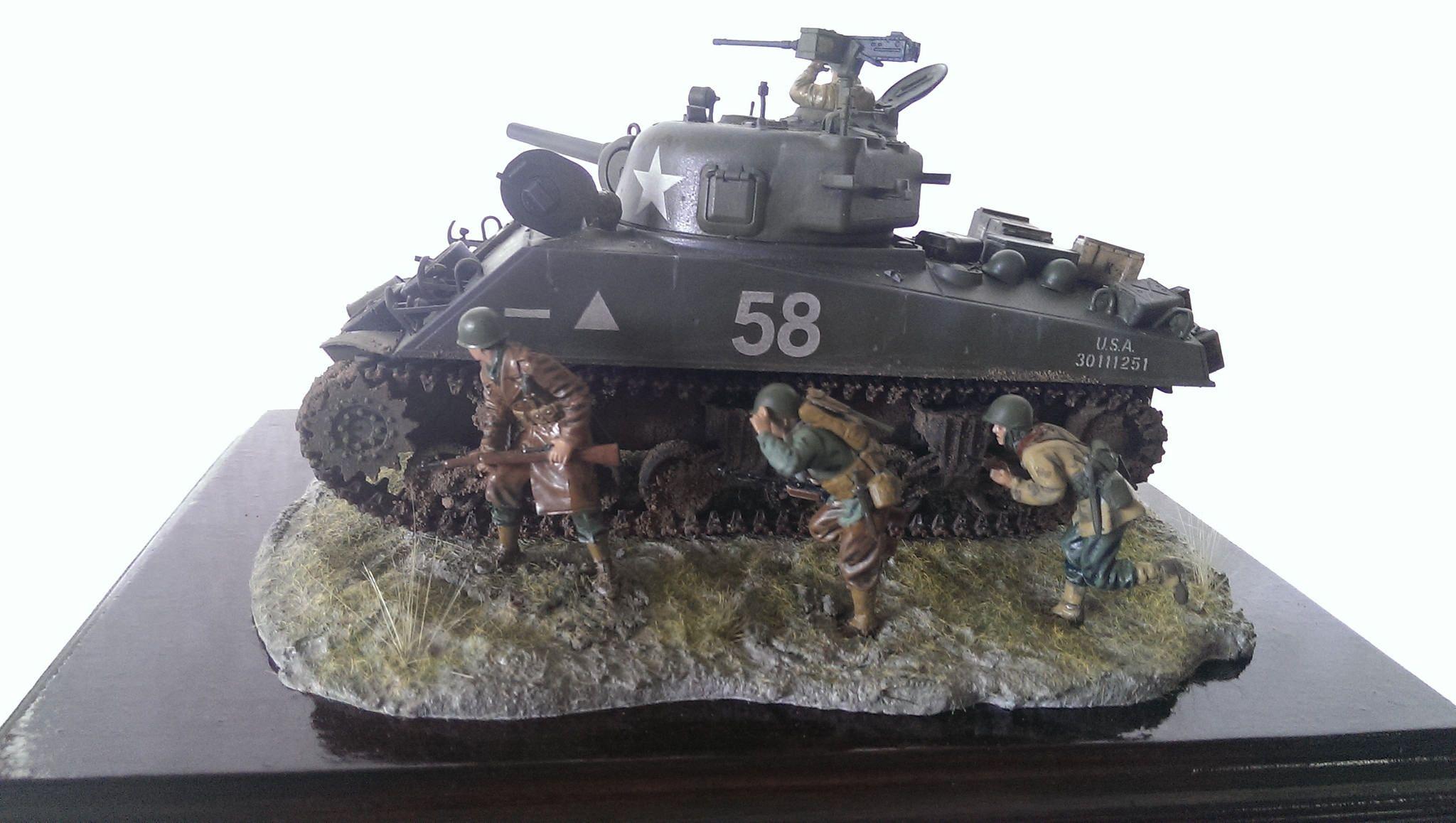 The Tamiya M4A3 Sherman Tank Kit | Building painting model