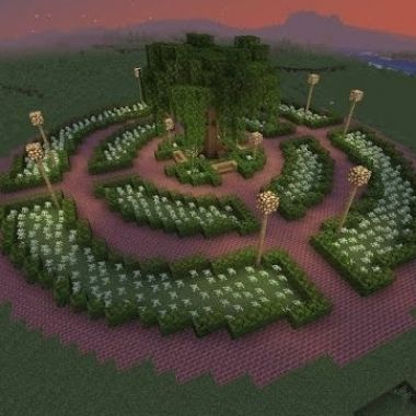 Garden Design Minecraft