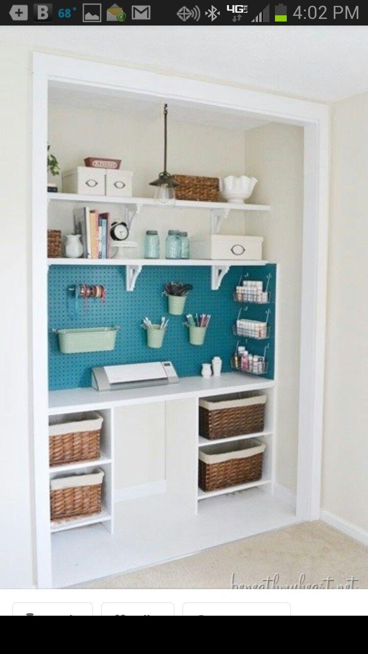 Cool Cricut Work Station Scrapbook Rooms Pinterest
