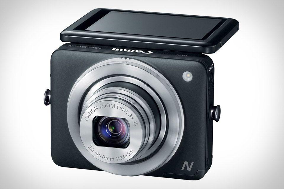 Canon PowerShot N Camera | Things that look COOL | Pinterest | Tecno ...