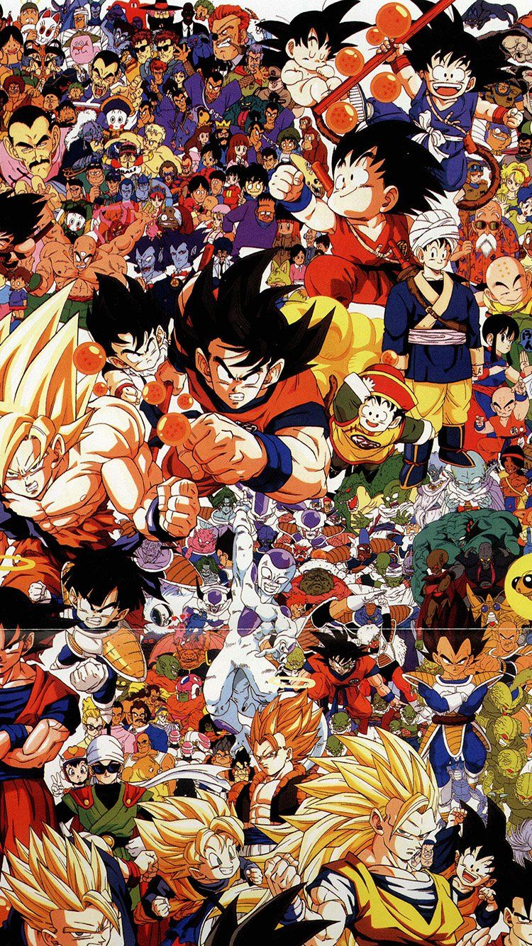 Dragonball Full Art Illust Game Anime Wallpaper Hd Iphone Arnosh