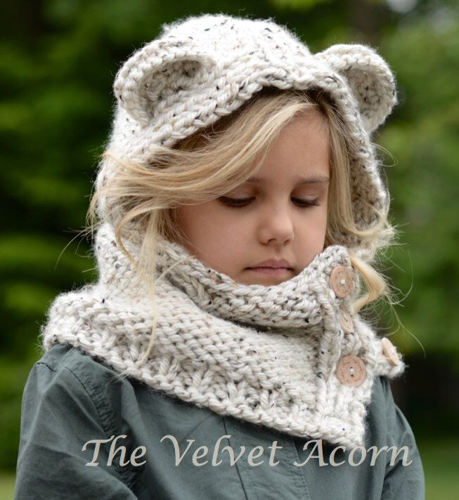 KNITTING PATTERN - Polarynn Bear Set (12/18 month - Toddler - Child - Adult sizes) by Thevelvetacorn on Etsy https://www.etsy.com/listing/236574507/knitting-pattern-polarynn-bear-set-1218