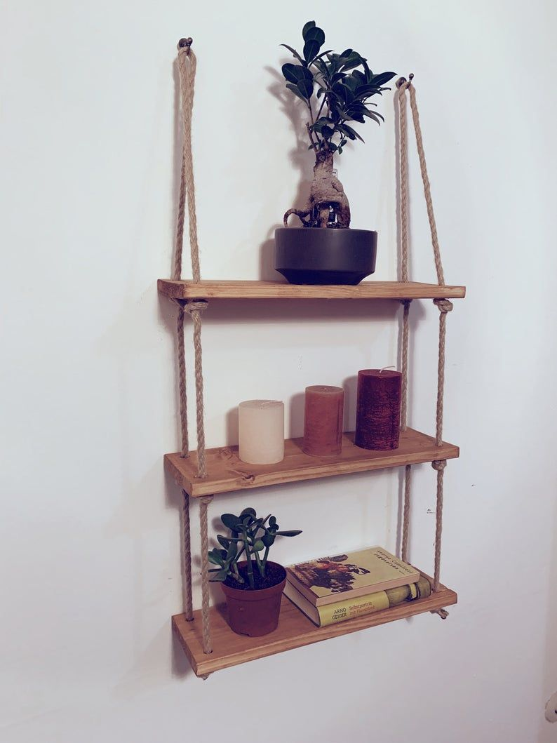 Ladder Shelf Shelf Wood Shelf Hanging Shelf Blanket Ladder
