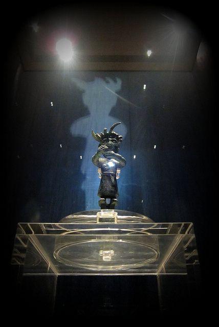Little Bronze Man at Jinsha Site Museum
