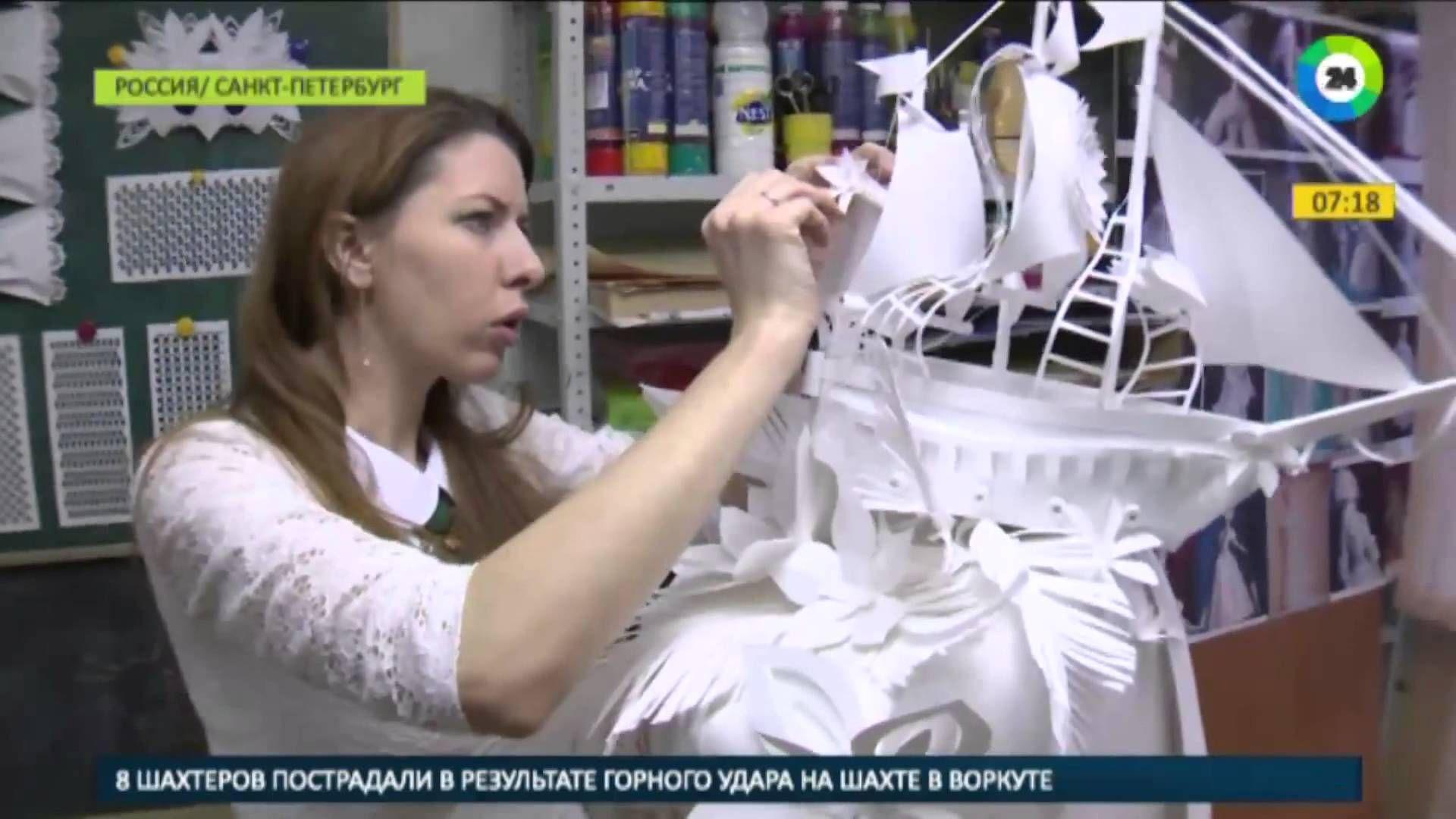 artist asya kozina TV mir24