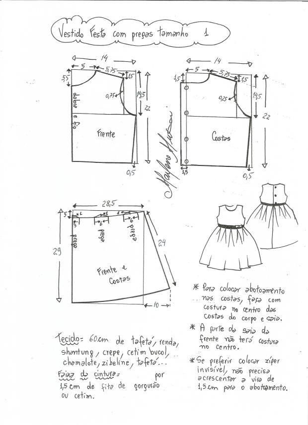 vestido-fiesta-ninas-falda-plisada-1   Alta costura niña   Pinterest ...