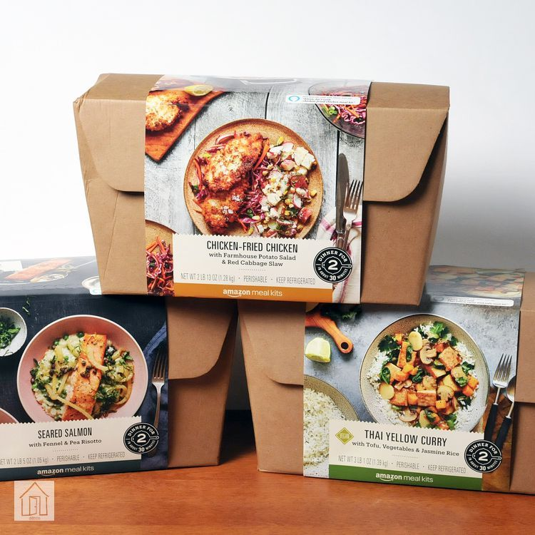 Amazon Meal Kit Review In 2020 Frozen Food Packaging Meal Kit Vegan Meal Delivery