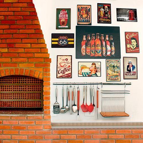 Placa Decorativa 5081 Garoto Refrigerante  - at.home