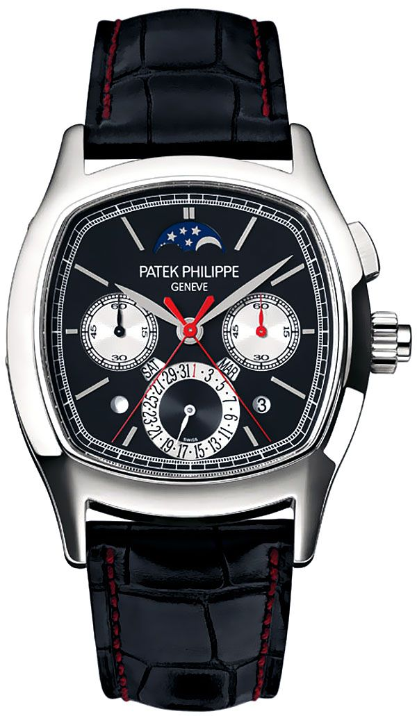9e3651158948f Platinum Patek Philippe  Monopusher Split-Second (Rattrapante) Chronograph  · Relógios MasculinosEstilo ...