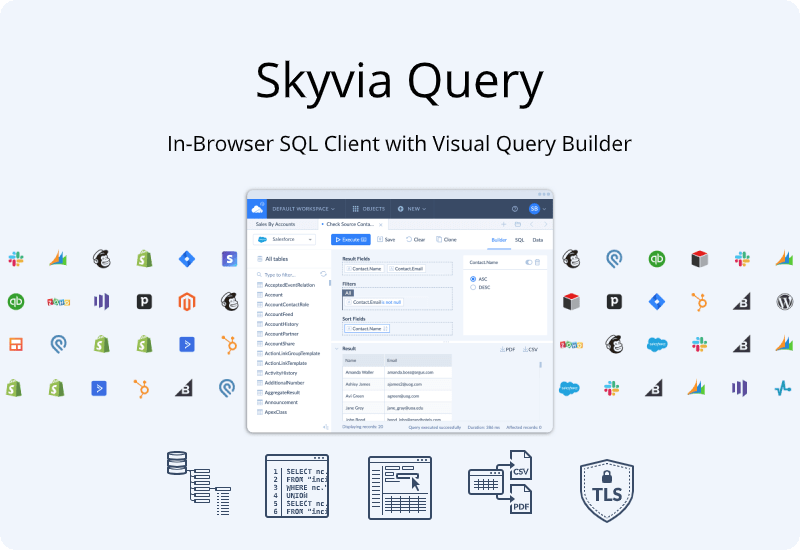 Skyvia Query Review & 20 Off Annual Standard Plan