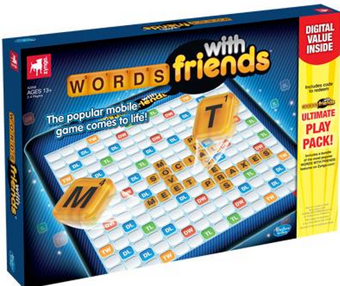 Words With Friends Is Now A Board Game Words With Friends Games Classic Games Creators of the original juice pack battery. pinterest