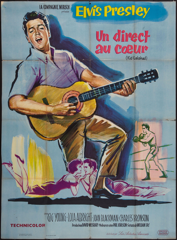 Kid Galahad (1962) Stars Elvis Presley, Gig Young, Lola