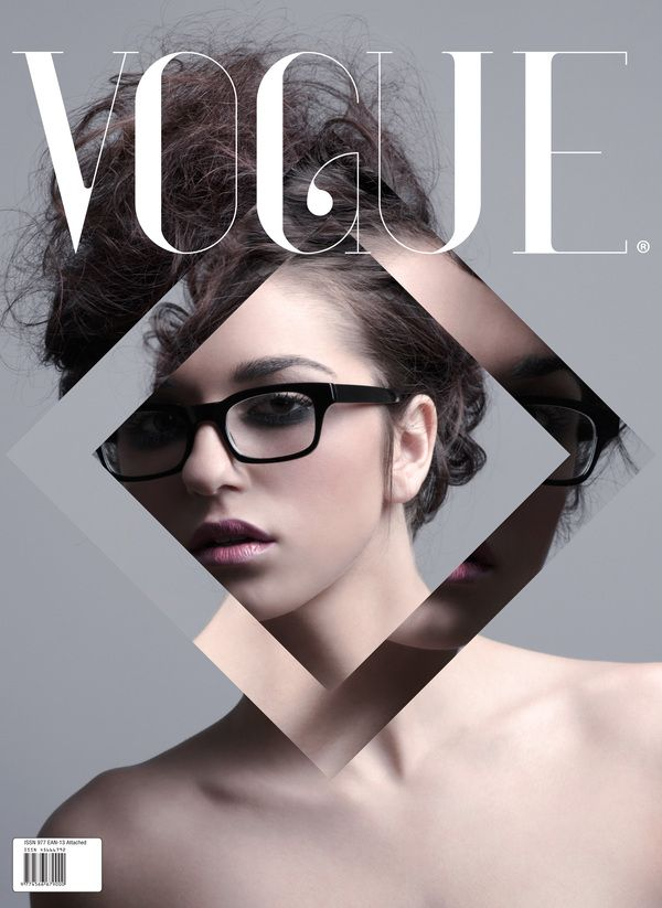 Vogue Cover | Magazine Cover: Graphic Design, Typography ...