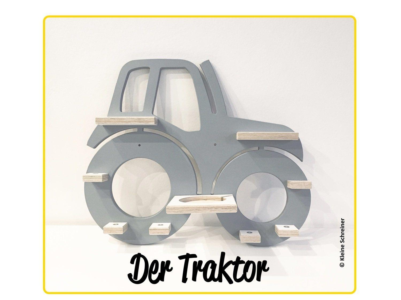 Traktor Kinderzimmerdekoration Toniebox Regal Dekorationen