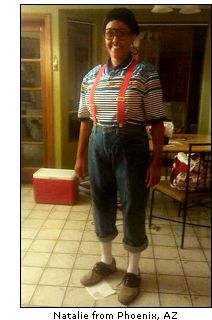 Steve Urkel 90s Costume Idea