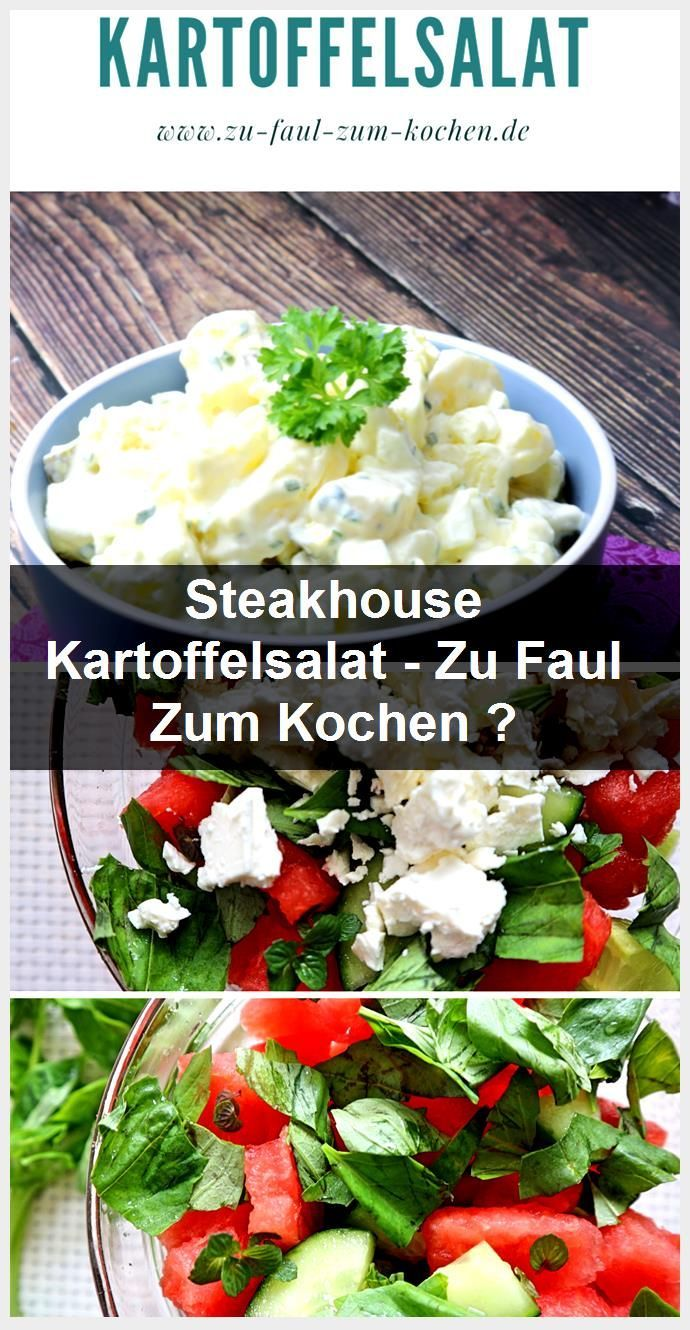 Steakhouse Potato Salad - Too Lazy to Cook?, #Lazy #Potato Salad #cooking #Steakhouse ..., #Cook #Cooking #lazy #Potato #Salad #Steakhouse