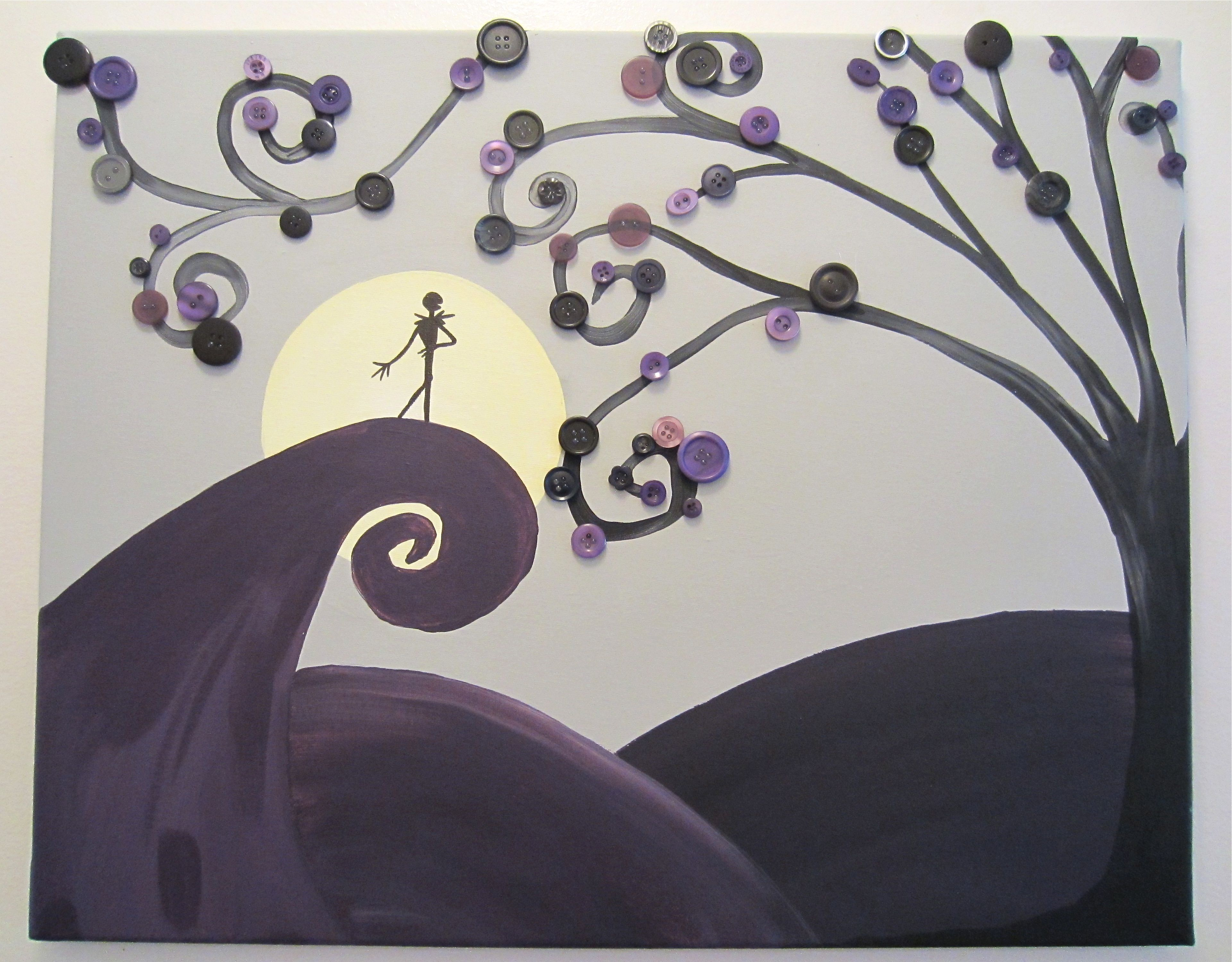 nightmare before christmas party | disney | pinterest | button