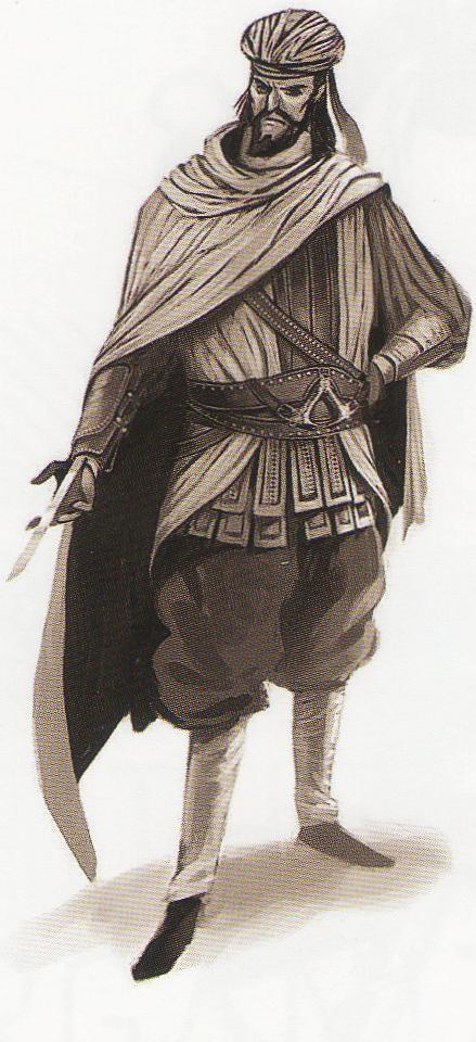 Darius The Male Persian Assassin He Used His Hidden Blade To