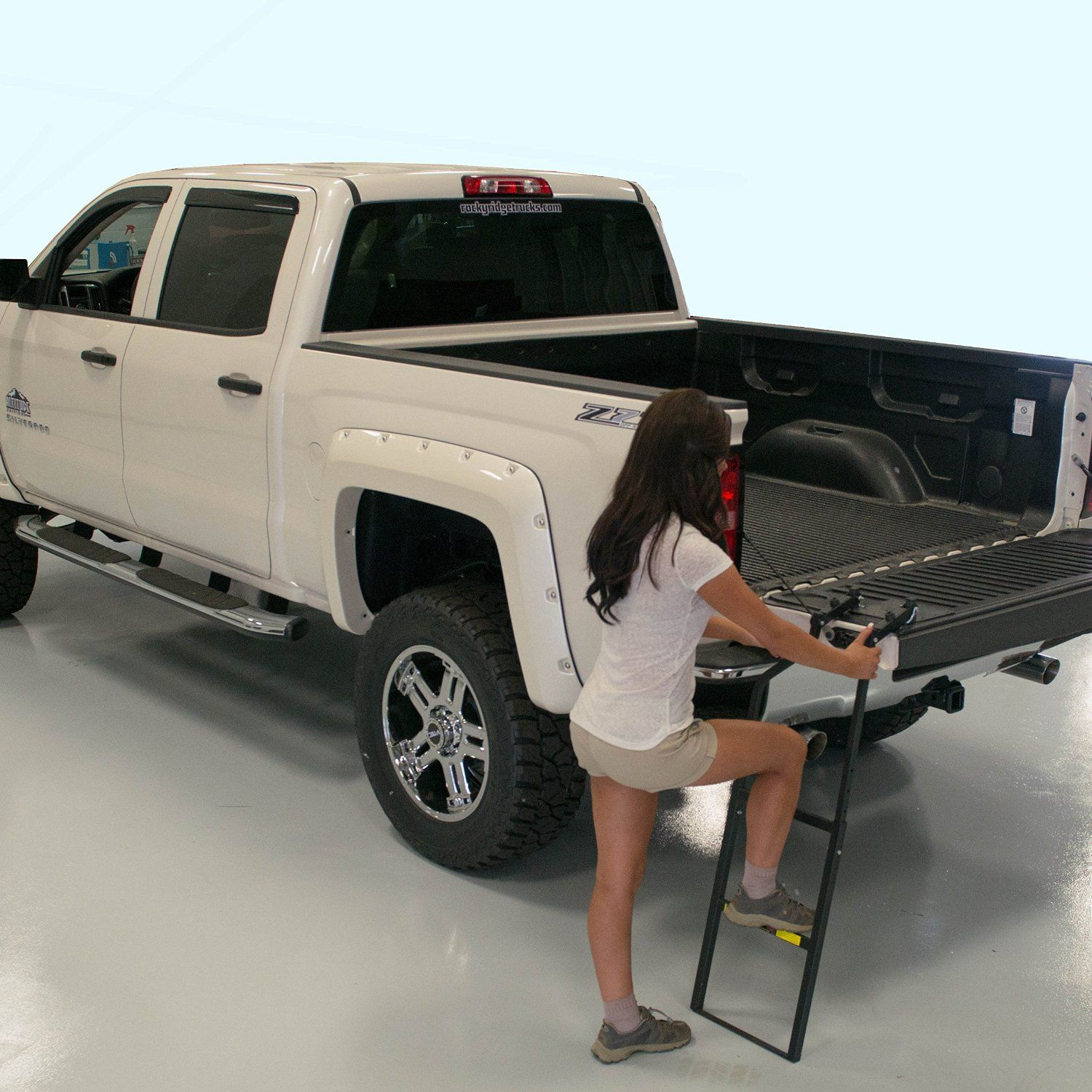 Traxion 5100 Tailgate Ladder Automotive
